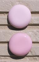 オリジナル陶器表札開運風水八角ベース色ピンク