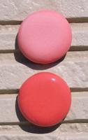 オリジナル陶器表札開運風水八角ベース色赤
