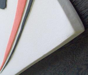 オリジナル陶器表札Z1二条光